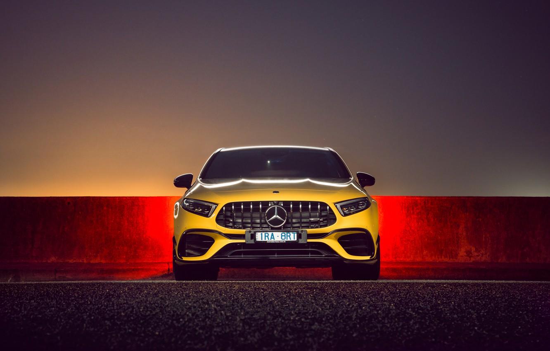 Photo wallpaper Mercedes, AMG, Mercedes Benz A45, Mercedes-AMG A 45 S 4MATIC