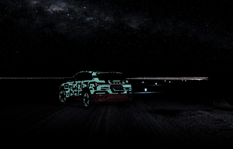 Photo wallpaper the sky, night, Audi, 2018, E-Tron Prototype