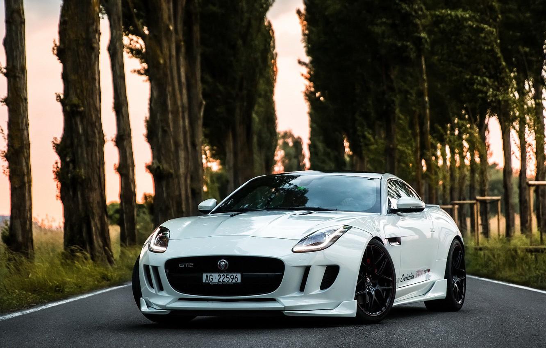 Photo wallpaper Jaguar, GTR, R400, Performance, F Type, Knight