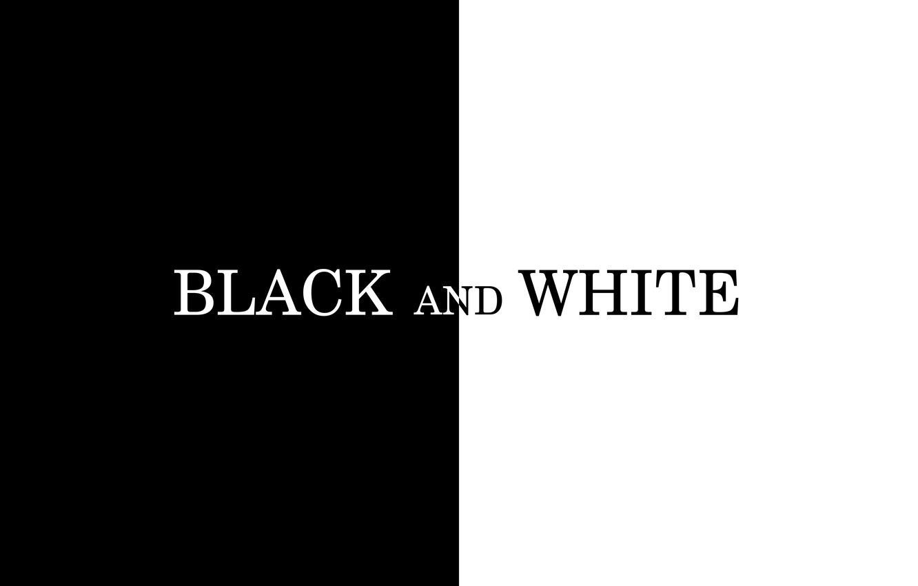 Photo wallpaper white, black, minimalism, line, text, art, block, color, illustration, tones