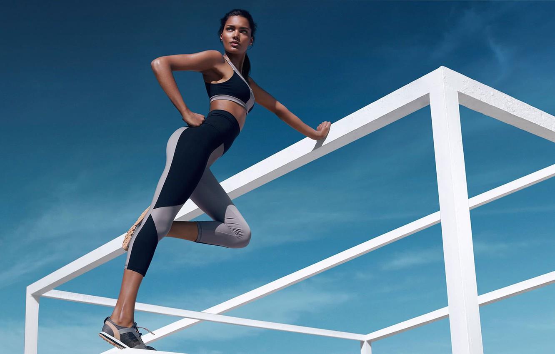 Photo wallpaper girl, sport, sport, luxury, спортивная культура, luxe activewear, best athleisure