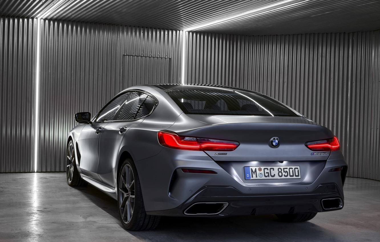 Photo wallpaper light, coupe, BMW, Gran Coupe, ass, 8-Series, 2019, the four-door coupe, Eight, G16