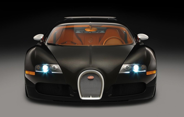 Photo wallpaper 2008, Bugatti, Veyron, Black Blood