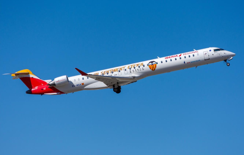 Photo wallpaper Bombardier, Air Nostrum, CRJ-1000