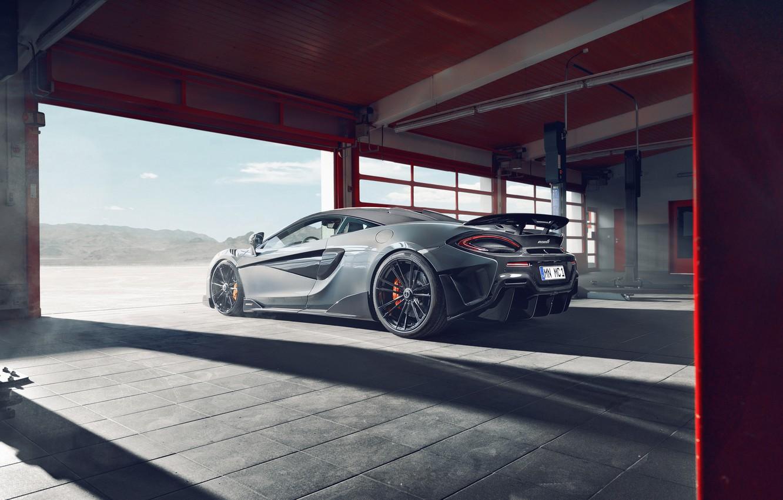 Photo wallpaper McLaren, sports car, Novitec, 600LT