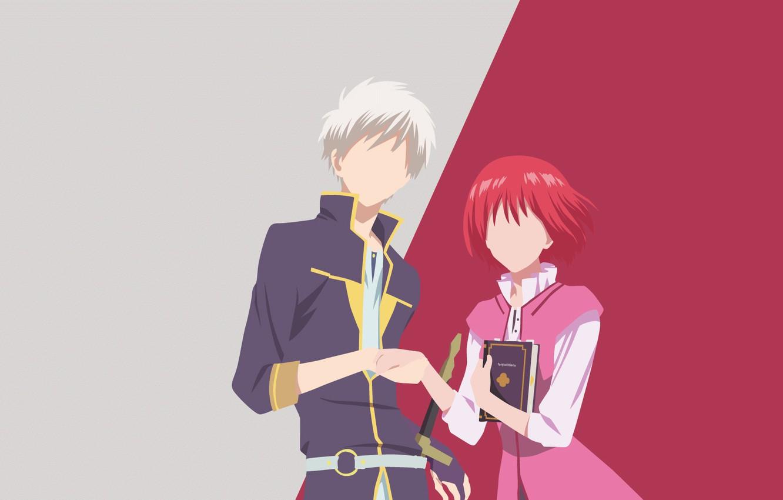 Wallpaper Pair Akagami No Shirayukihime Two Background Anime