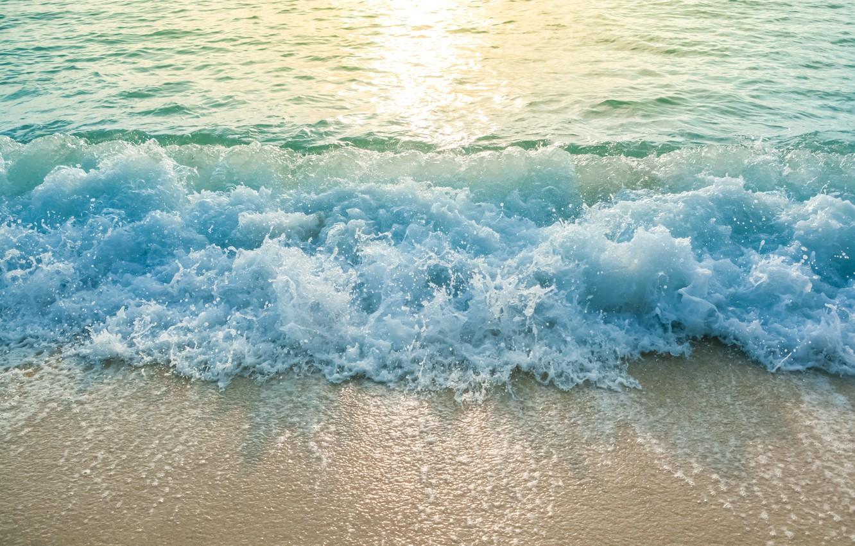 Photo wallpaper sand, sea, wave, beach, summer, summer, beach, sea, ocean, seascape, sand, wave