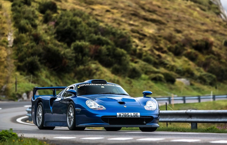 Photo wallpaper 911, Porsche, 993, GT1