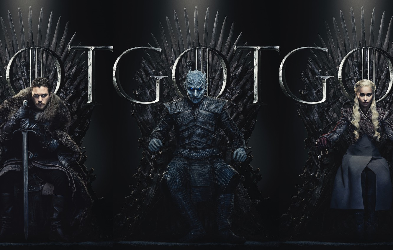 Photo wallpaper poster, Game Of Thrones, Game Of Thrones, The 8th season