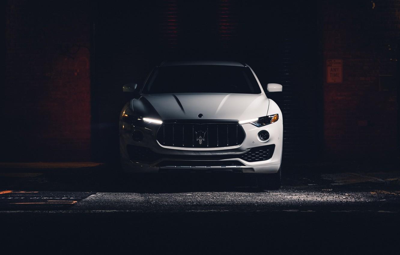 Photo wallpaper Front view, Crossover, Maserati Levante S