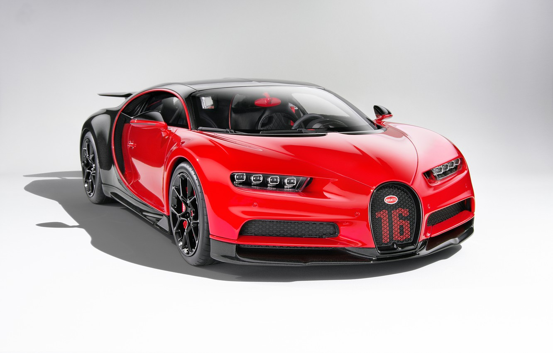 Photo wallpaper red, background, art, hypercar, Bugatti Chiron, Bugatti Chiron Sport