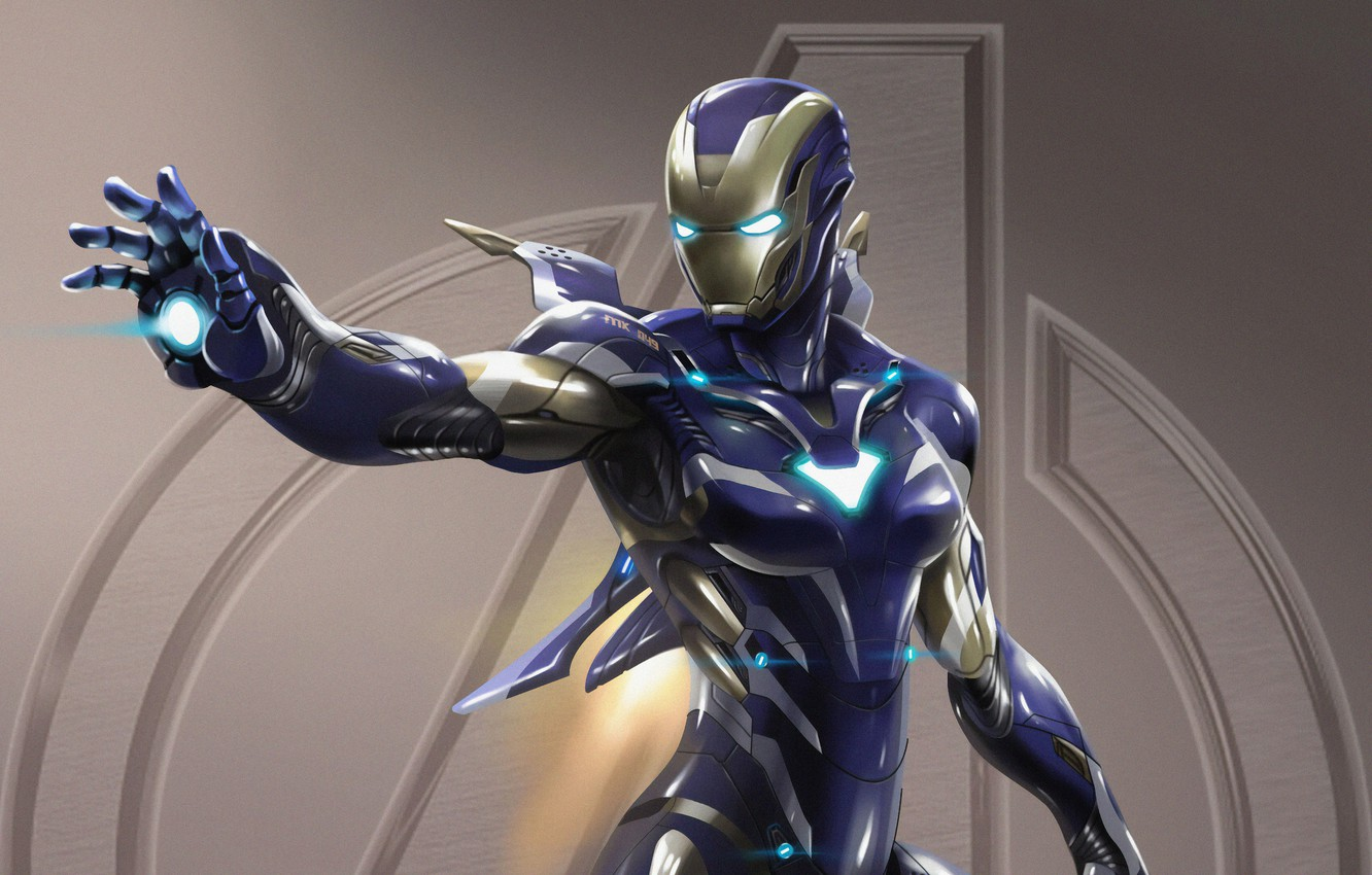 Photo wallpaper Wallpaper, Pepper Potts, Avengers: Endgame, Iron Man Armor