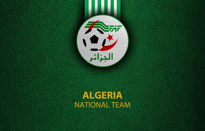 Photo wallpaper wallpaper, sport, logo, football, Algeria, National team