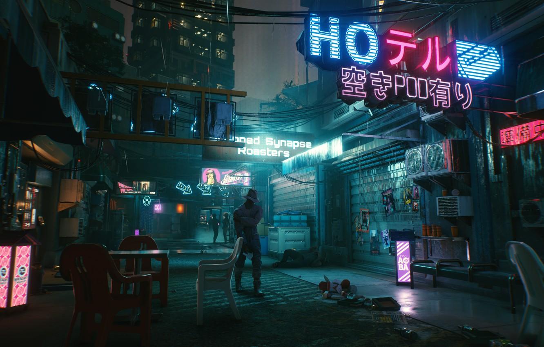 Photo wallpaper future, cyberpunk, rpg, video game, video game, night city, CD Projekt RED, Cyberpunk 2077, Cyberpunk, …