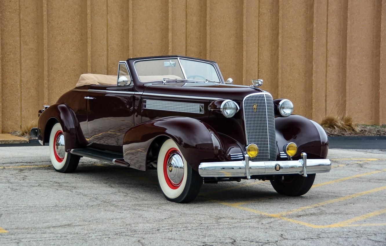Photo wallpaper auto, retro, Cadillac, Coupe, Convertible, Series 60