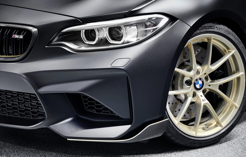 Photo wallpaper BMW, 2018, the front part, F87, M2, M2 M Performance Parts Concept