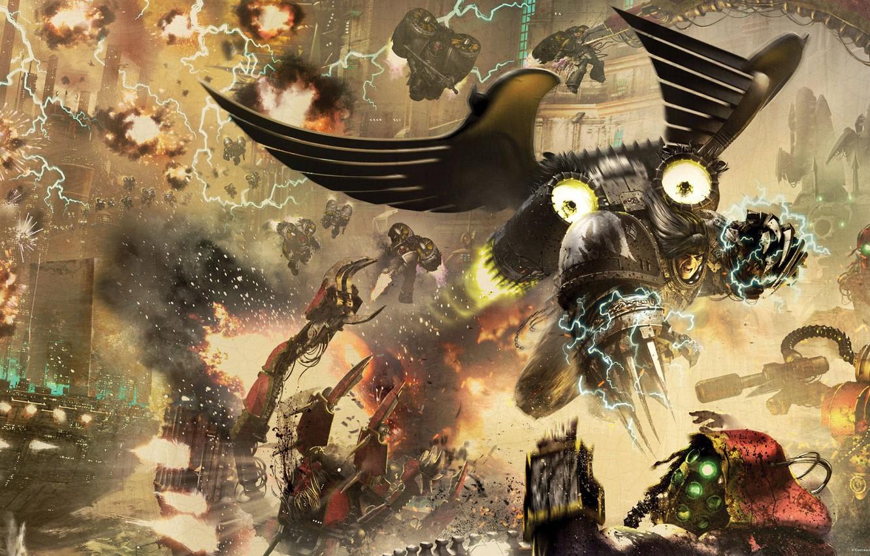 Wallpaper Horus Heresy Warhammer 40 000 Raven Guard Primarch