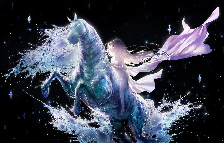 Wallpaper Ice Horse Elsa Cold Heart Images For Desktop Section Art Download