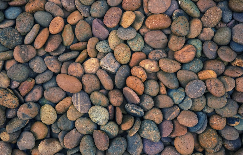 Photo wallpaper beach, pebbles, stones, background, beach, texture, marine, sea, pebbles