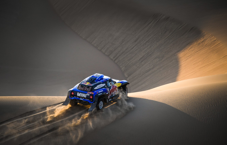 Photo wallpaper Sand, Mini, Sport, Desert, Machine, Car, 300, Rally, Dakar, Dakar, Dune, Buggy, Buggy, X-Raid Team, …