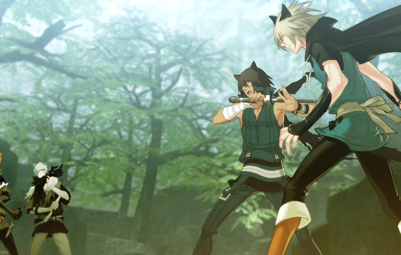 Photo wallpaper the game, anime, art, guys, characters, Lamento