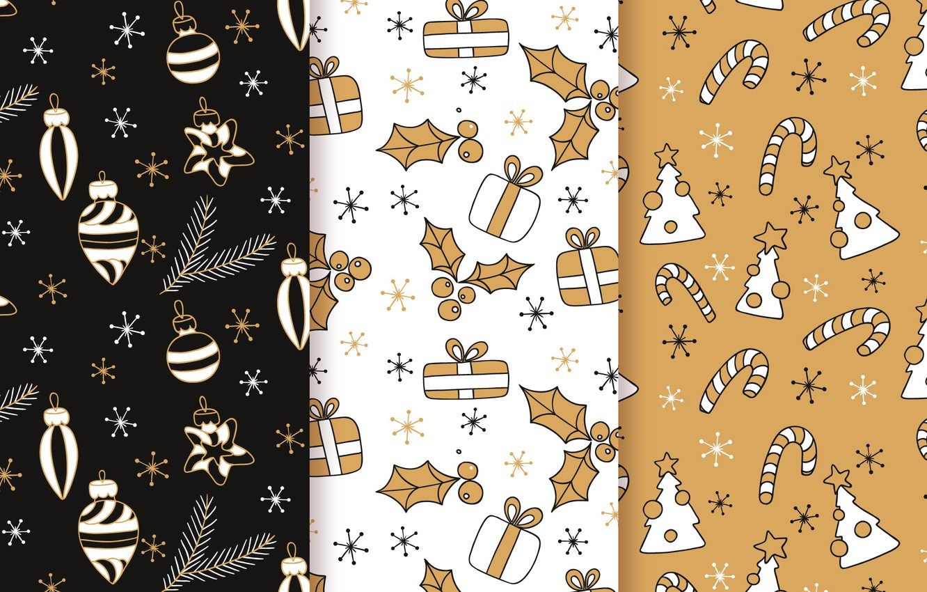 Photo wallpaper background, toys, texture, christmas, pattern