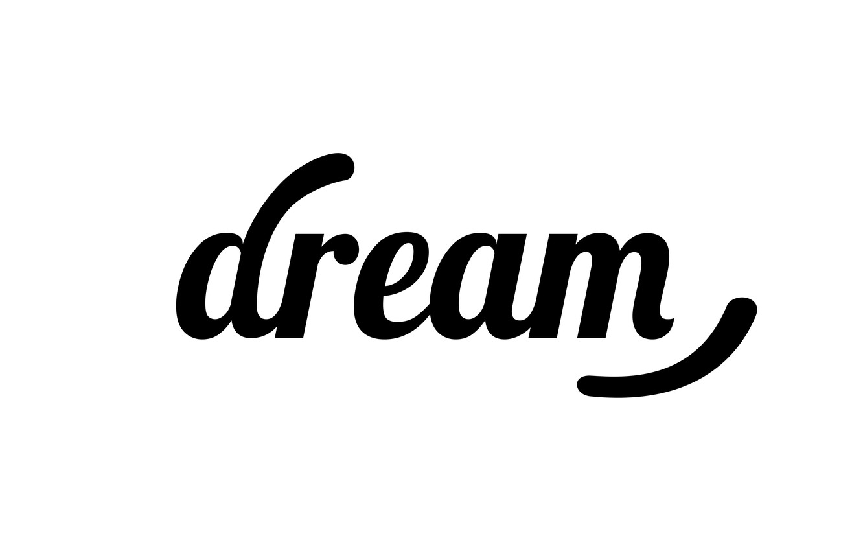 Photo wallpaper dream, letters, dream, sleep, the word