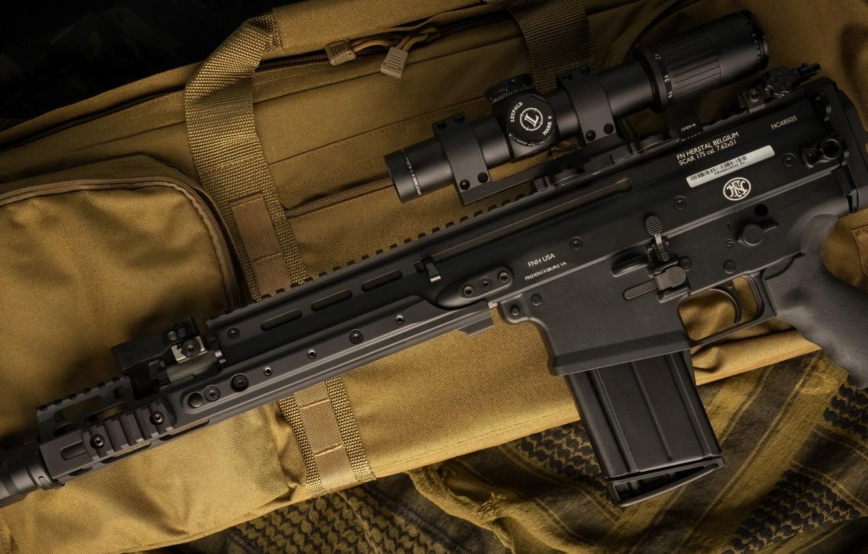 Photo wallpaper weapons, machine, weapon, assault rifle, SCAR-H, SCAR, assaul rifle