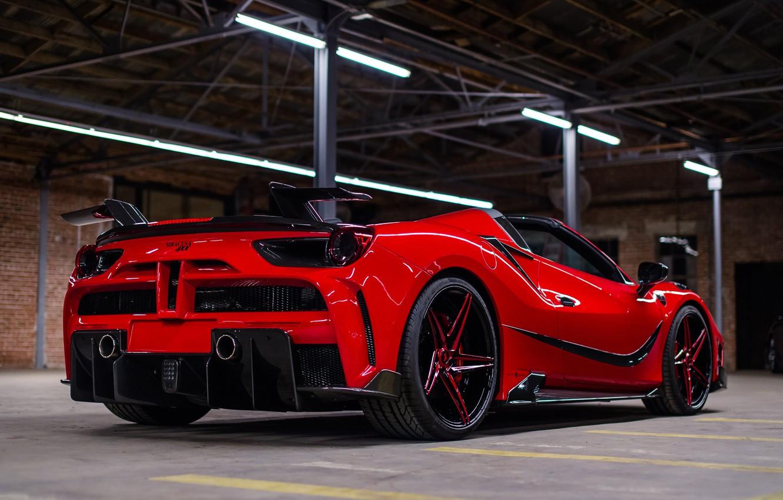 Photo wallpaper Ferrari, Mansory, Spider, 4XX, Ferrari 4XX Spider By Mansory
