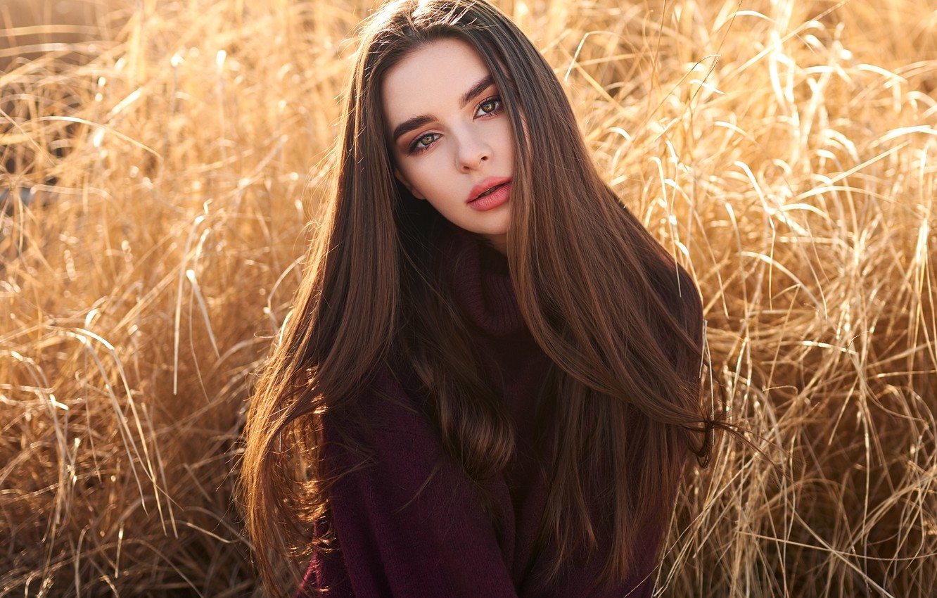 Photo wallpaper look, pose, hair, Girl, Victoria Cwynar, bulinko, Peter Krzyzanowski