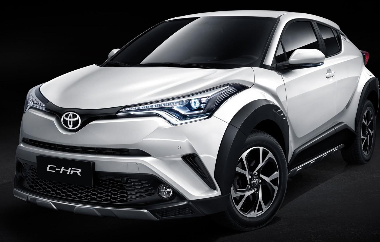 Photo wallpaper Toyota, 2018, crossover, C-HR