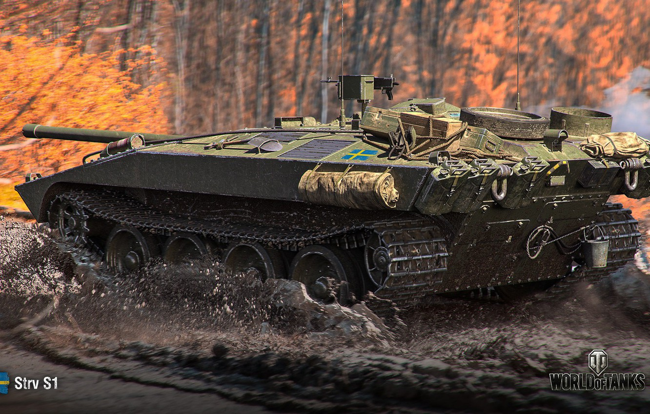 Photo wallpaper forest, the game, game, forest, bitch, wot, self-propelled gun, gun, World Of Tanks, anti-tank, world …
