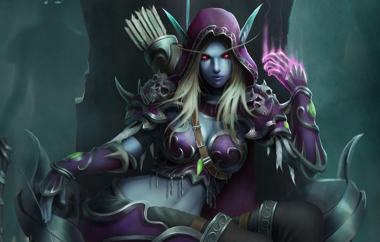 Wallpaper Wow Blizzard Art World Of Warcraft Warcraft Silvana