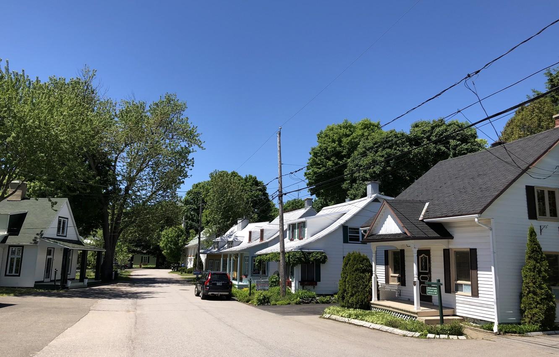 Photo wallpaper Canada, Quebec, Village of Cap-Santé