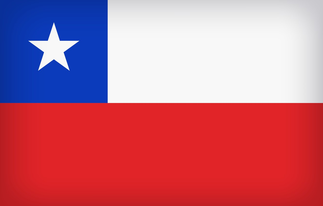 Photo wallpaper Flag, Chile, Chilean Flag, Flag Of Chile, Chilean