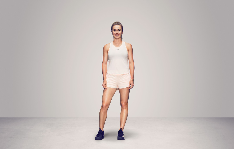Photo wallpaper Girl, Ukraine, Woman, Sport, Tennis, Elina, WTA, Ukrainian, Elina Svitolina, Svitolina