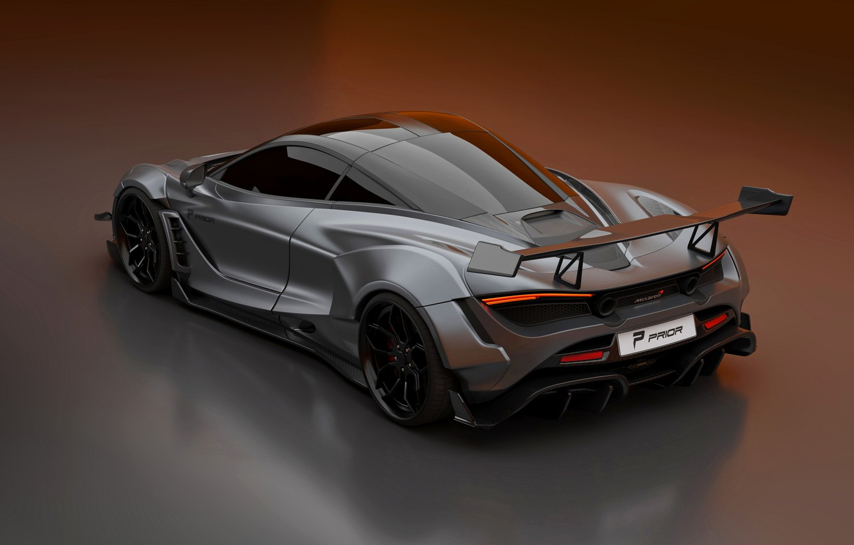 Photo wallpaper McLaren, Prior Design, mid-engined, 2020, 720S, widebody kit