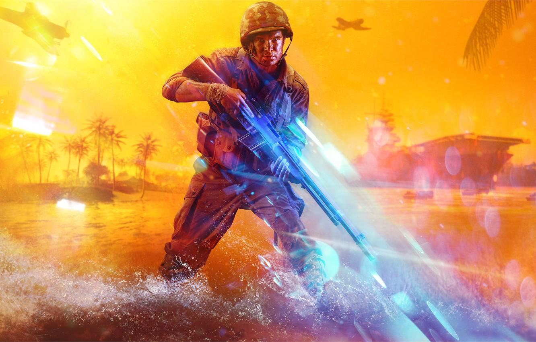 Photo wallpaper Battlefield, Electronic Arts, DICE, Battlefield 5, Battlefield V