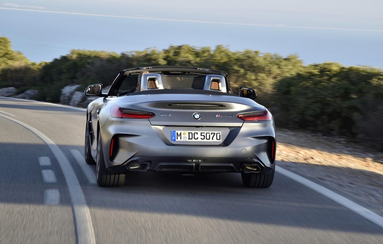 Photo wallpaper grey, markup, BMW, Roadster, feed, BMW Z4, M40i, Z4, 2019, G29