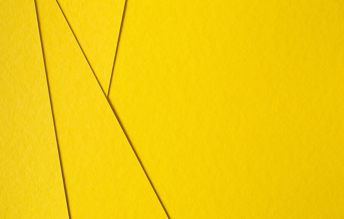 Wallpaper Line Yellow Abstract Geometry Yellow