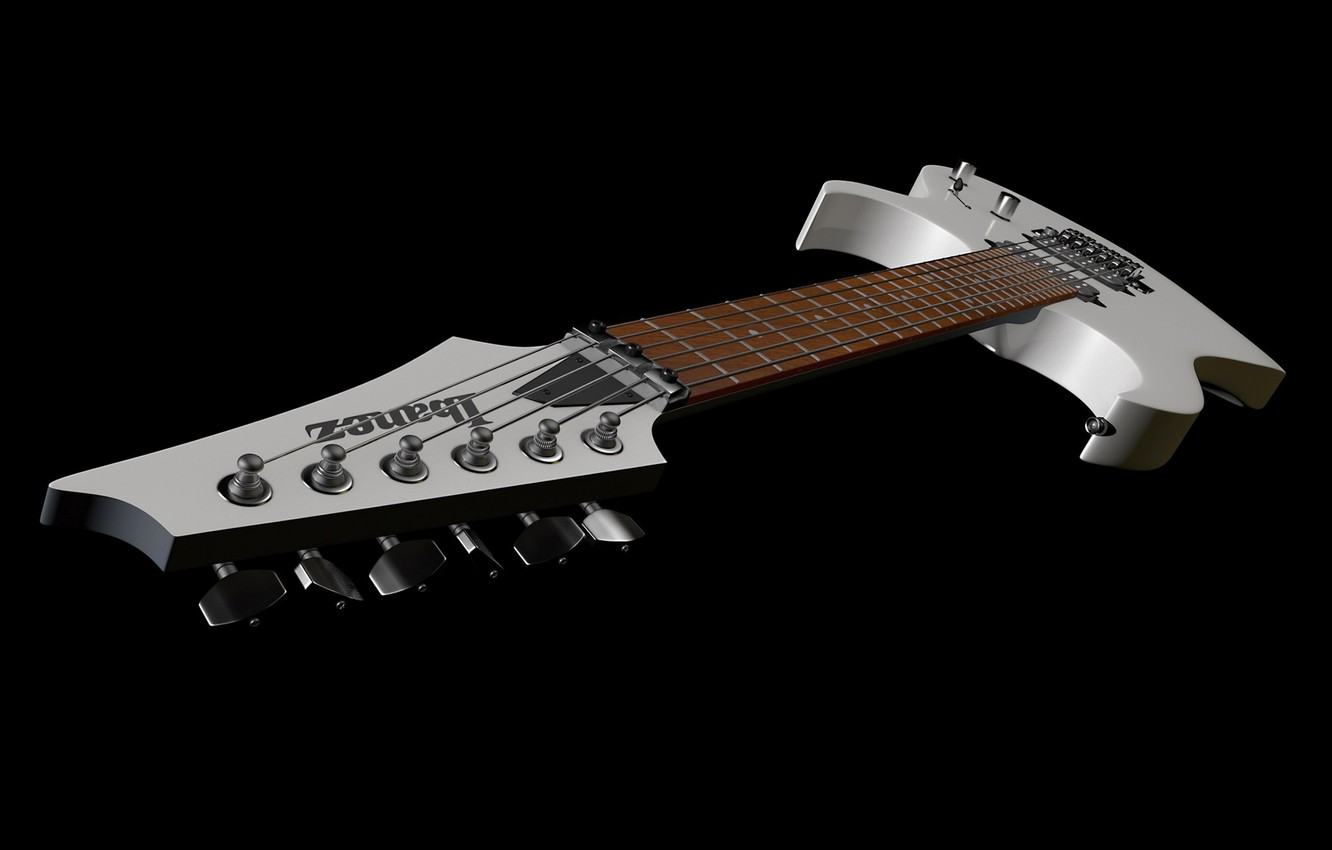 Photo wallpaper guitar, tool, electric guitar, ibanez