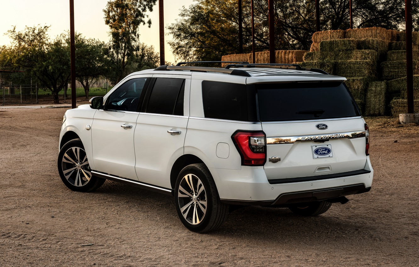 Photo wallpaper Ford, back, SUV, Expedition, 2020