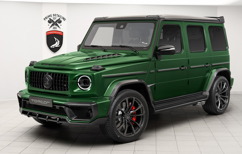Photo wallpaper Mercedes-Benz, AMG, Inferno, G-Class, Gelandewagen, Ball Wed, G63, 2019