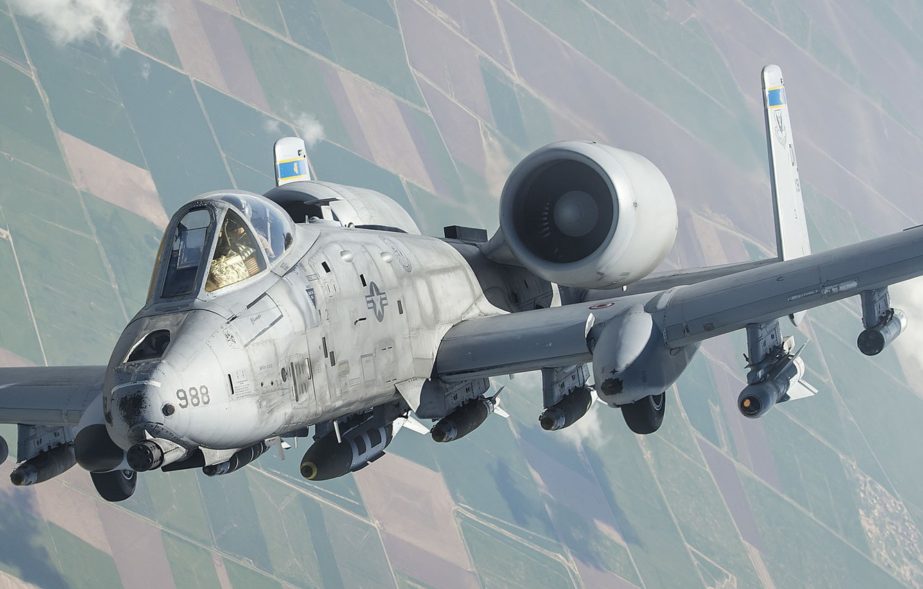 Wallpaper A 10 United States Air Force Thunderbolt Ii American
