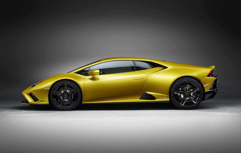 Photo wallpaper Lamborghini, side view, Huracan, 2020, RWD, Huracan Evo
