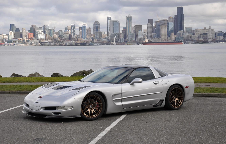 Photo wallpaper Corvette, Chevrolet, Coupe, Supercar, Vehicle