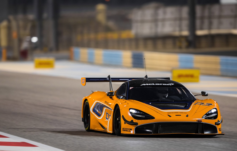 Photo wallpaper McLaren, racing car, GT3, 720S, 2019