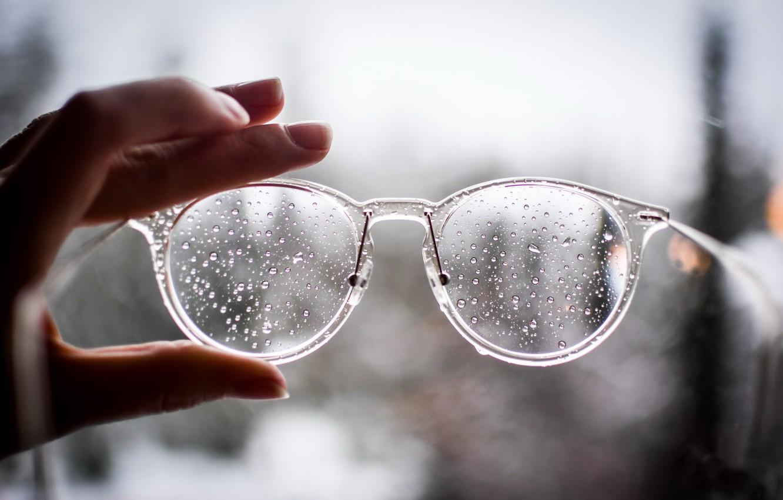 Photo wallpaper background, hand, glasses