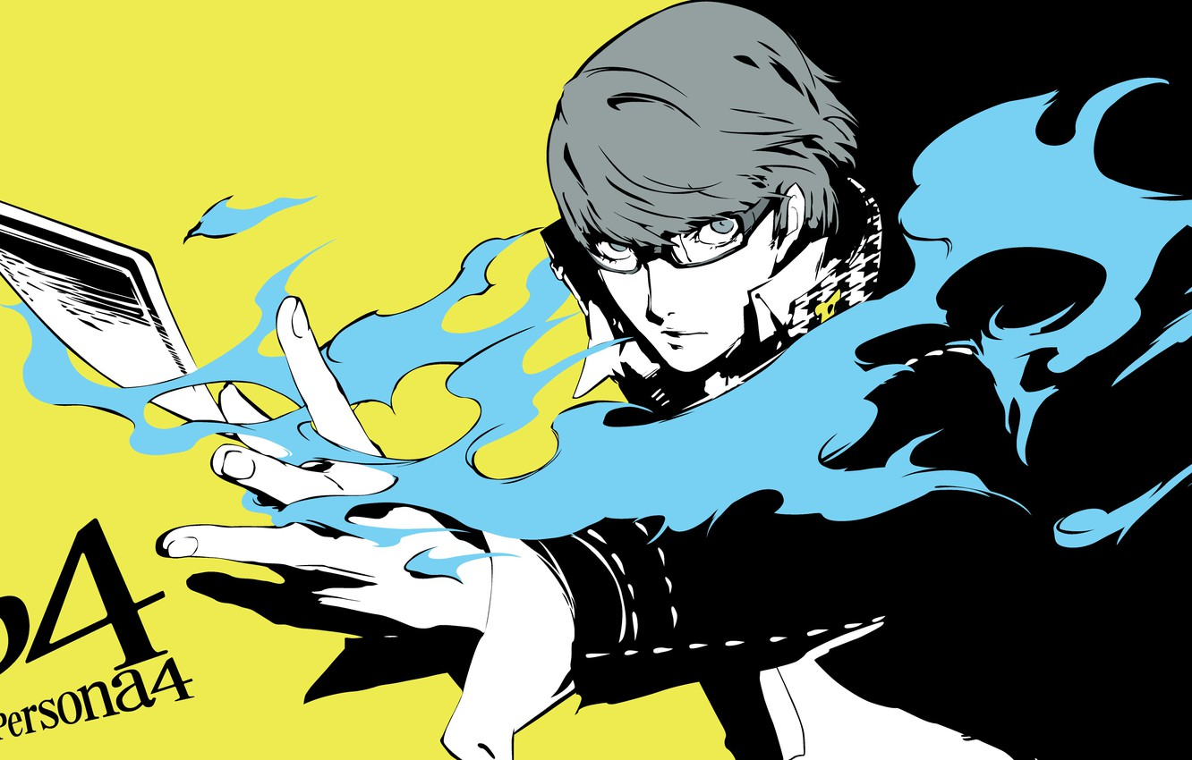 Wallpaper Flame The Game Hand Anime Art Glasses Guy