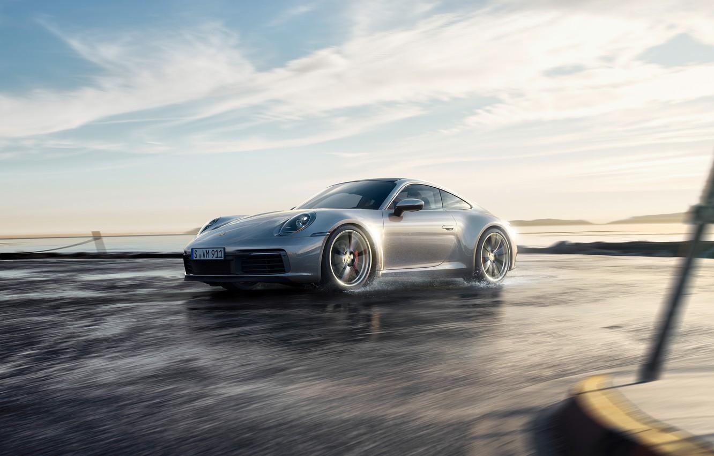 Photo wallpaper 911, Porsche, Porsche 911, Carrera S, 2019, 992.